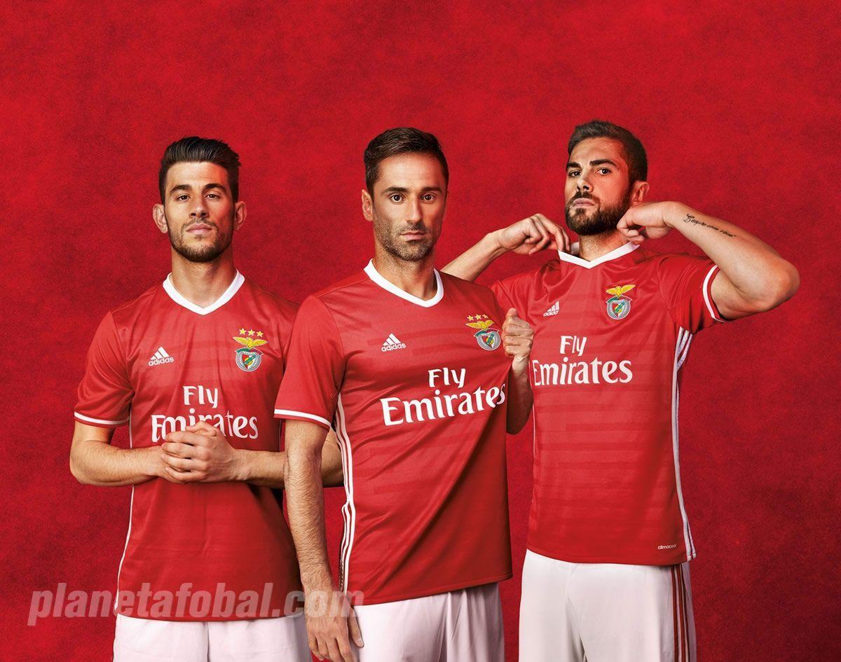 Casaca titular del Benfica | Foto Web Oficial