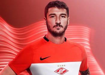 Camiseta titular del Spartak | Foto Nike
