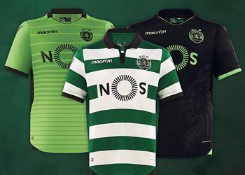 Camisetas del Sporting de Lisboa | Imágenes Web Oficial