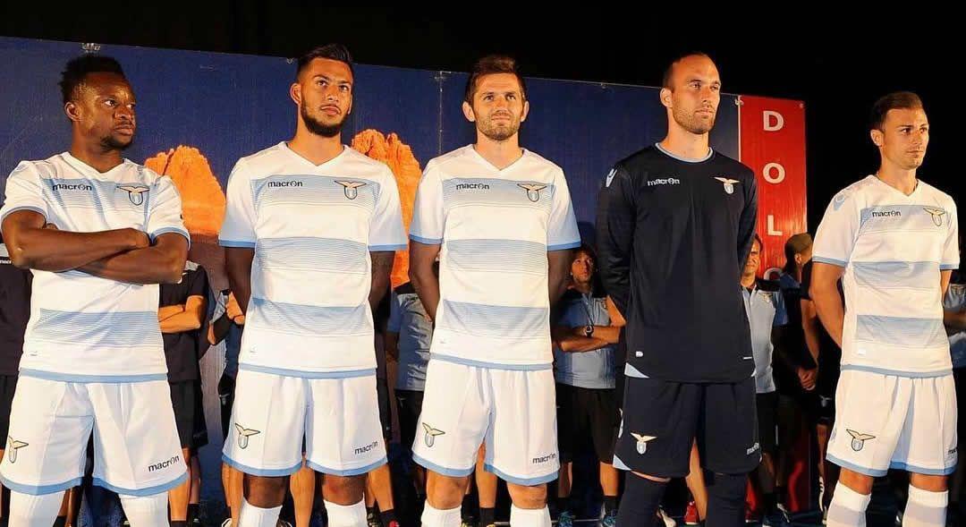 Tercera casaca de la Lazio | Foto Web Oficial