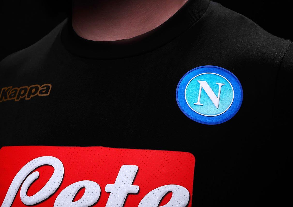 Tercera camiseta del Napoli | Foto Web Oficial
