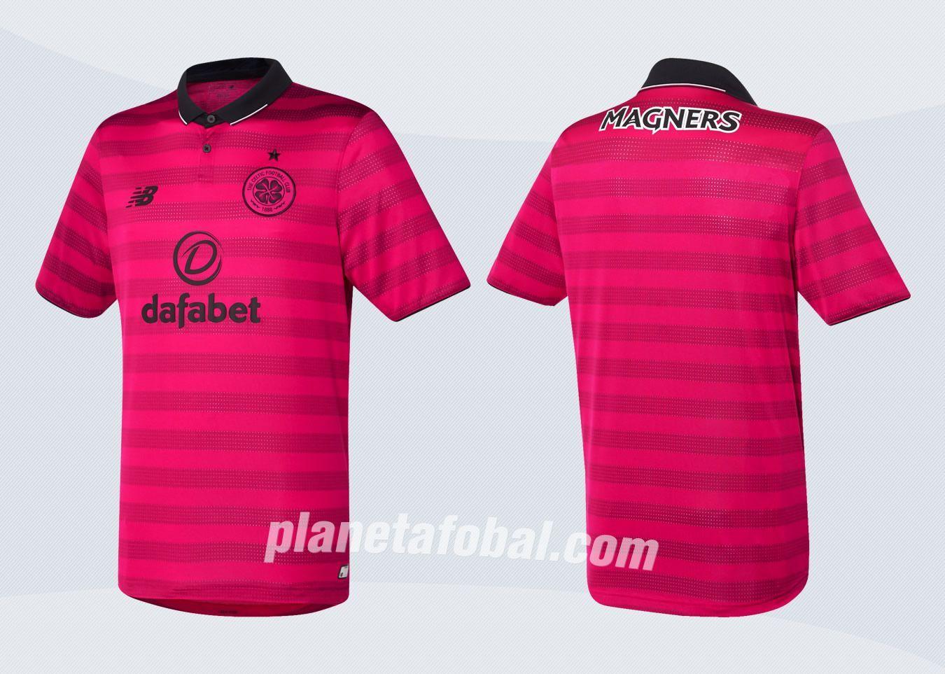 Tercera camiseta New Balance del Celtic Glasgow para 2016/2017 | Imágenes Tienda Oficial