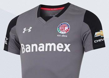 Tercera camiseta del Toluca de México para 2016/2017 | Imágenes Marti