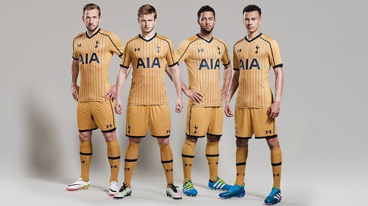 Tercera camiseta Under Armour del Tottenham 16/17 | Imagen web oficial