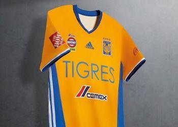 Nueva casaca titular de los Tigres UANL | Foto Adidas