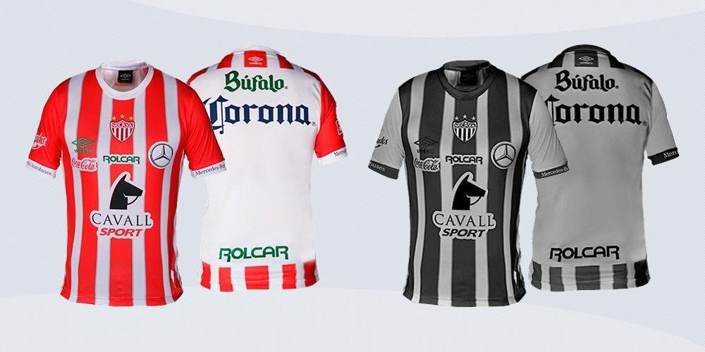 Camisetas del Necaxa | Imágenes Web Oficial