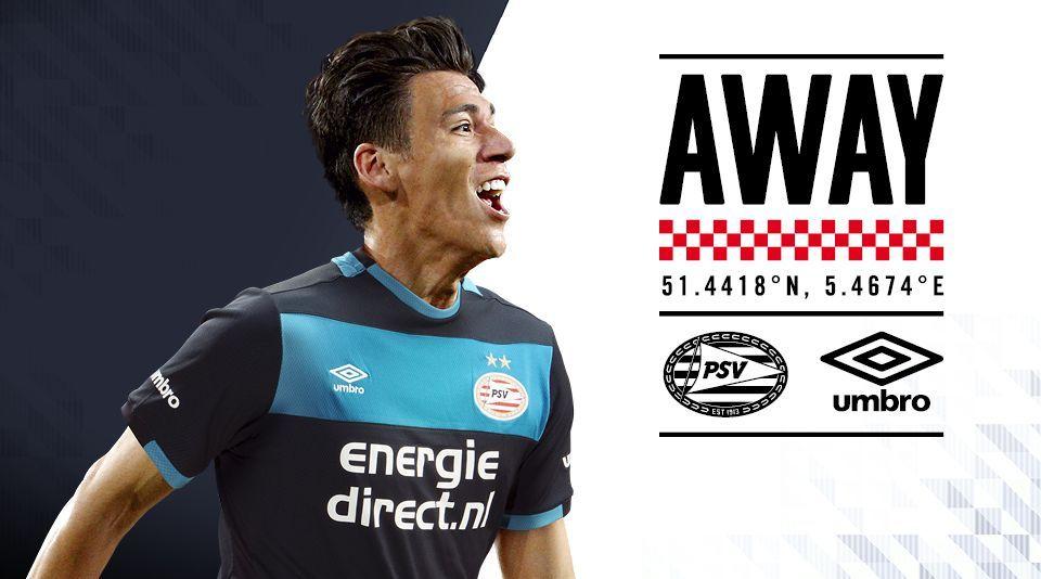 Camiseta suplente del PSV | Foto Web Oficial