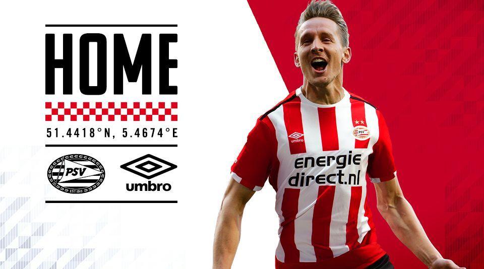 Camiseta titular del PSV | Foto Web Oficial