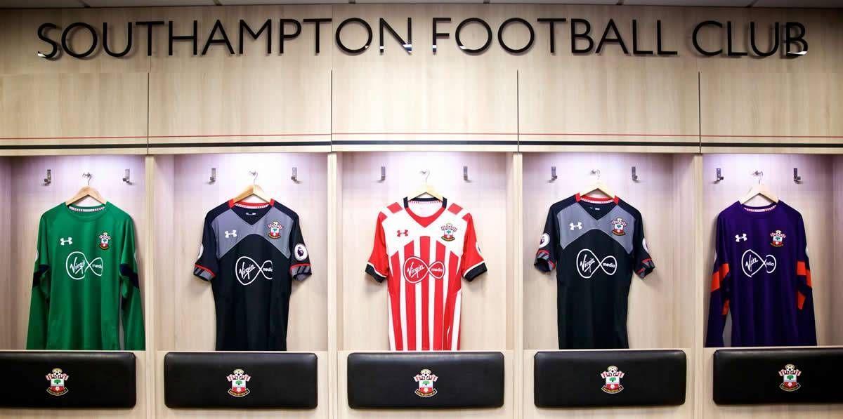 Nuevas casacas del Southampton | Foto Web Oficial