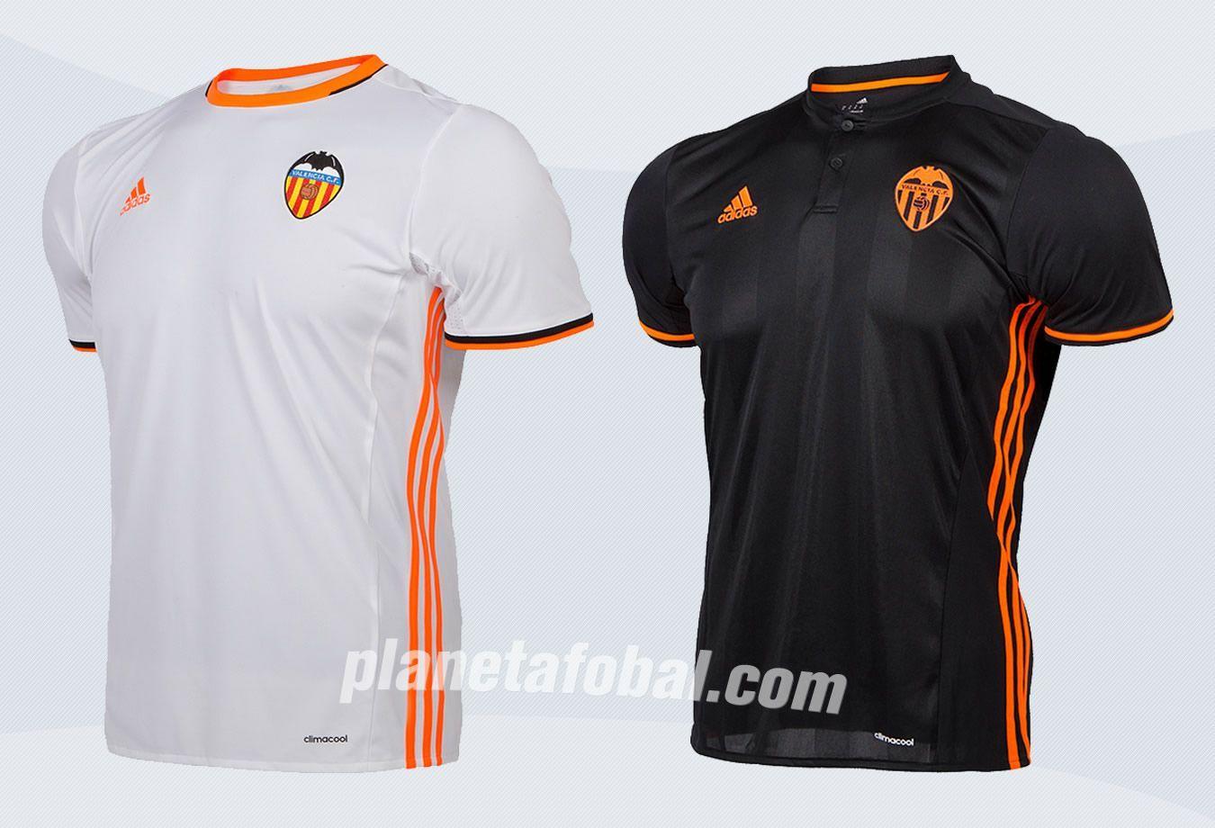 Nuevas casacas del Valencia | Imágenes Web Oficial