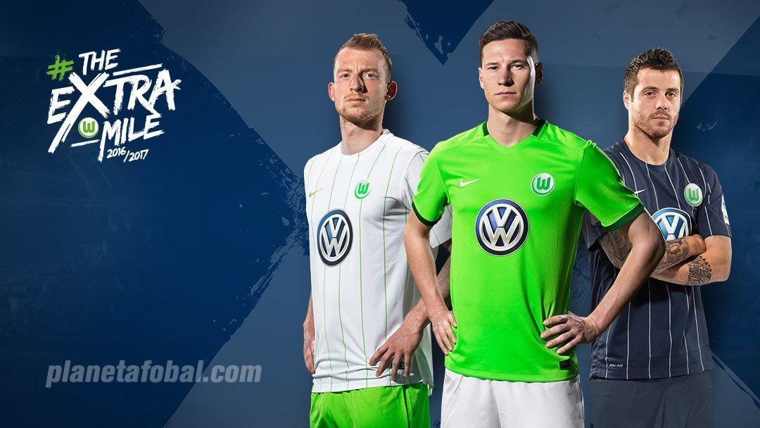 Nuevas casacas del VfL Wolfsburg | Foto Twitter Oficial