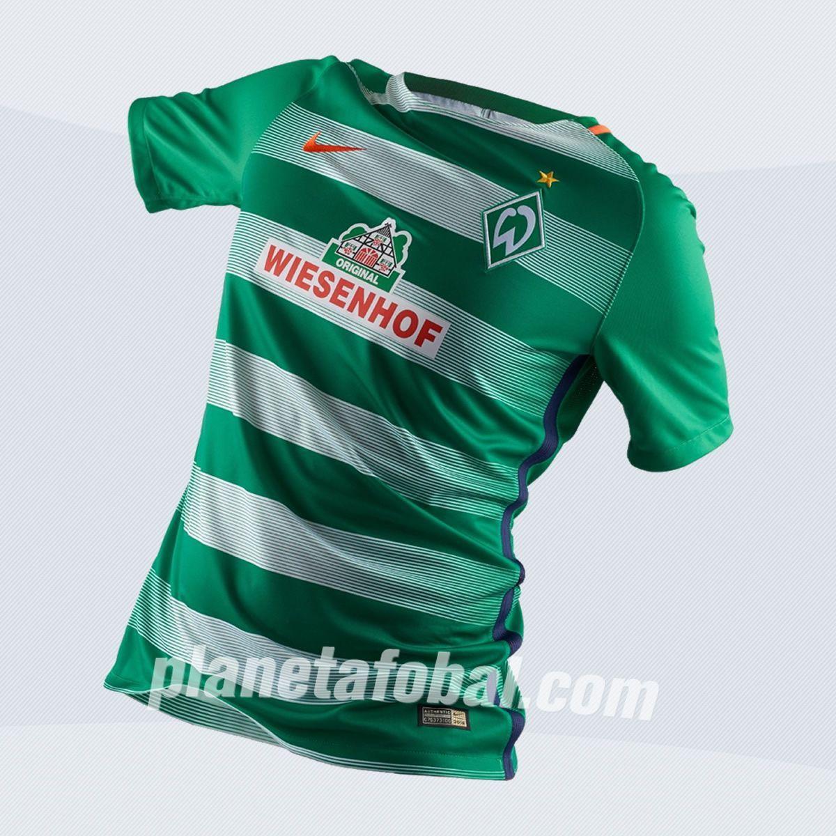 Casaca titular del Werder Bremen | Imagen Web Oficial