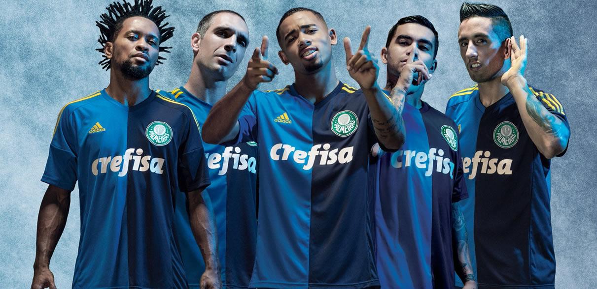 Tercera casaca del Palmeiras   Foto Web Oficial