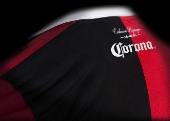 Camiseta centenario del Atlas | Foto Web Oficial