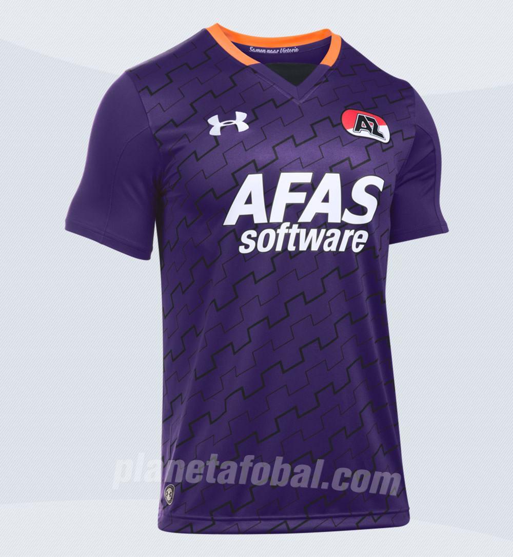 Nueva casaca del AZ Alkmaar | Foto Web Oficial