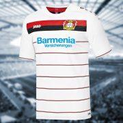 Tercera camiseta del Bayer 04 | Foto Jako