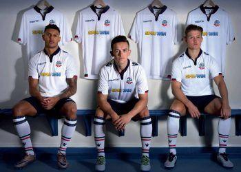 Camiseta titular del Bolton Wanderers | Foto Web Oficial