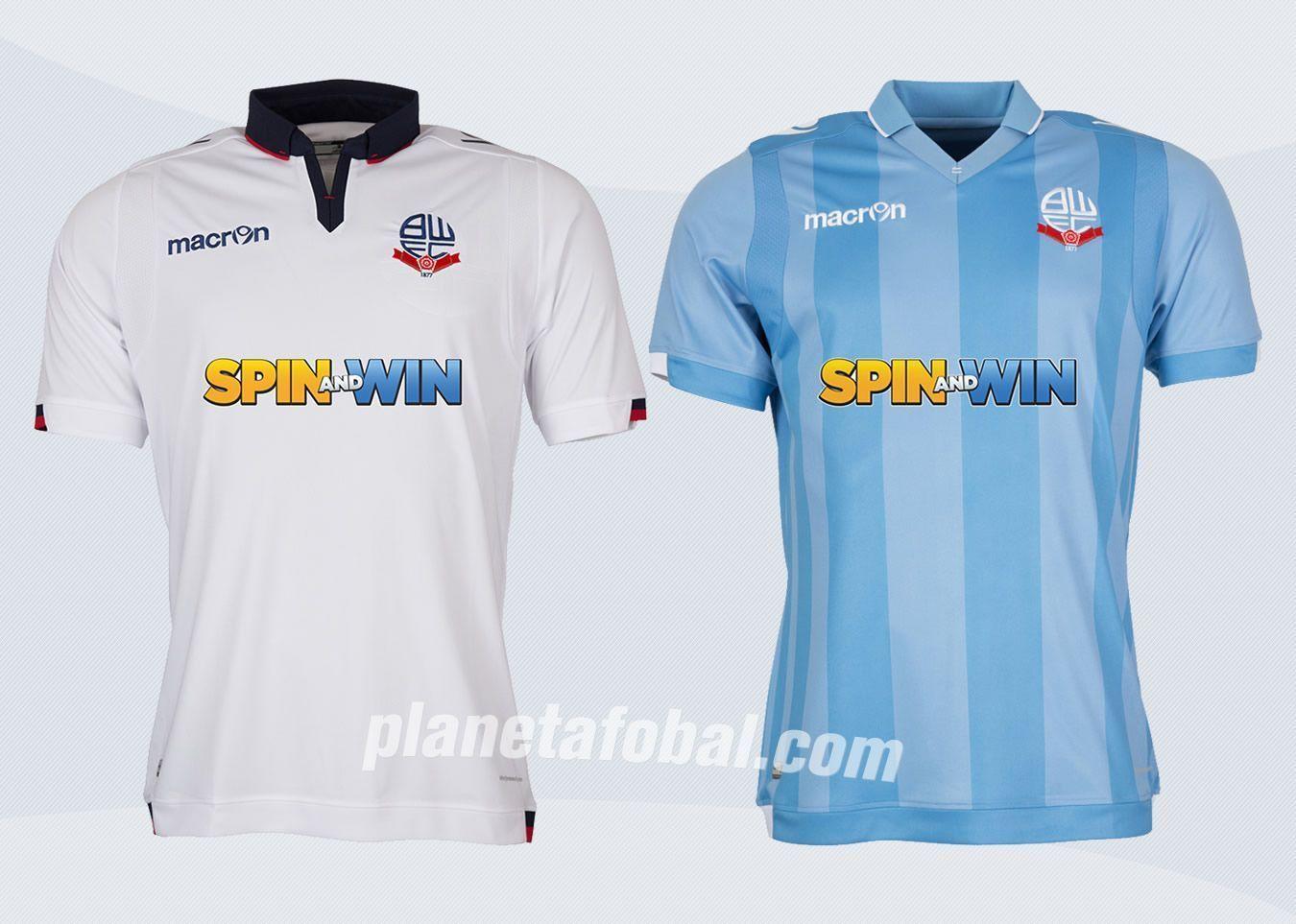 Nuevas casacas del Bolton Wanderers | Imágenes Sitio Oficial