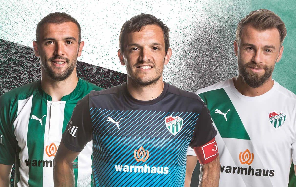 Nuevas casacas del Bursaspor | Foto Web Oficial