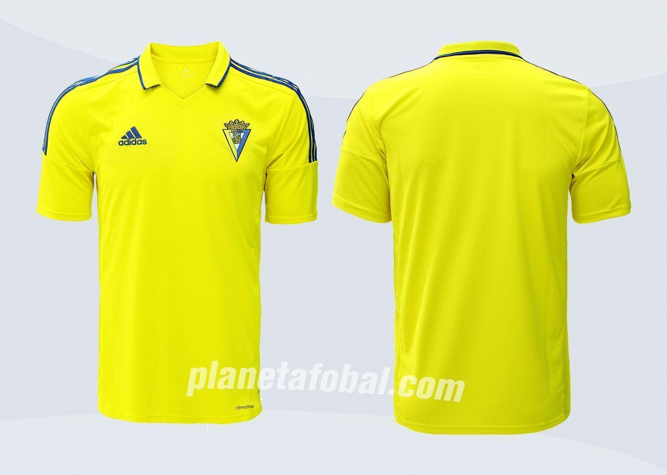 Camiseta titular del Cádiz CF | Imágenes Web Oficial