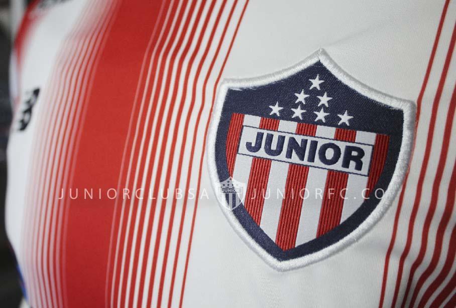 Nueva casaca del Junior | Foto Web Oficial