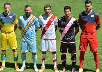 Nueva camisetas del Rayo Vallecano | Foto Twitter Oficial