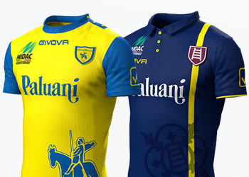 Nuevas casacas del Chievo Verona | Foto Web Oficial