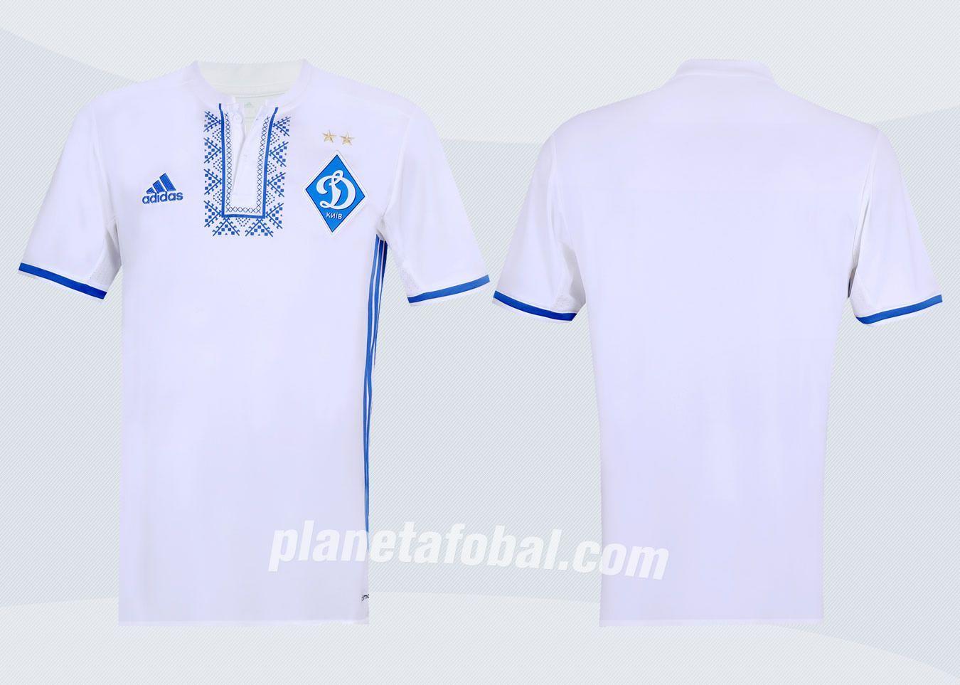 Camiseta titular del Dínamo Kiev | Foto Web Oficial