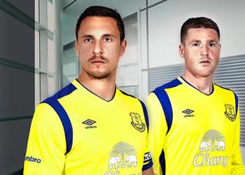 Nueva camiseta del Everton   Foto Web Oficial
