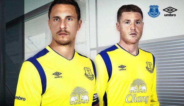 Nueva camiseta del Everton | Foto Web Oficial