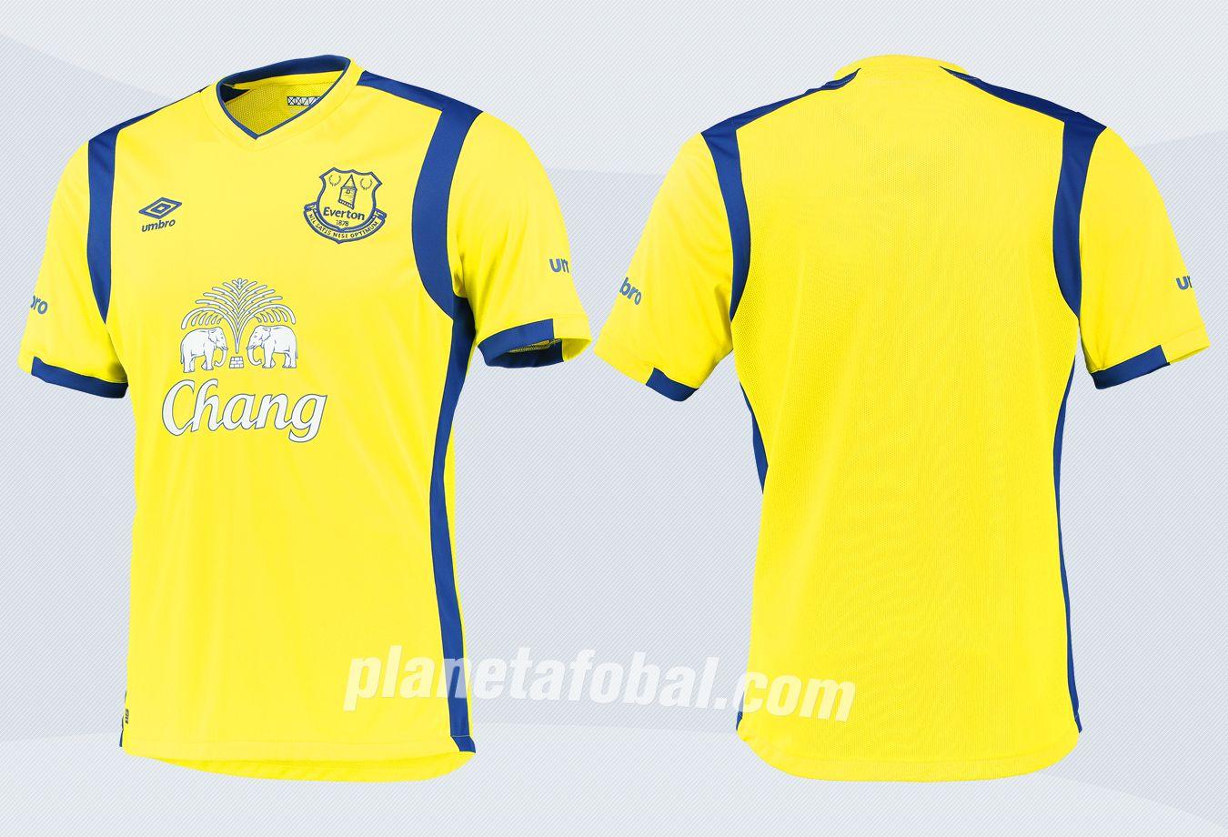 Nueva camiseta del Everton | Imágenes Web Oficial
