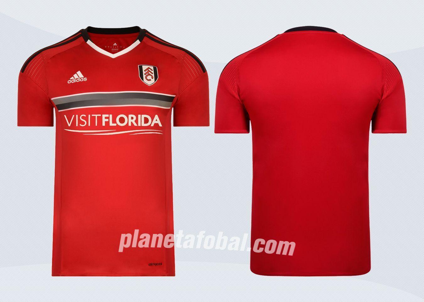 Nueva camiseta del Fulham | Imágenes Web Oficial