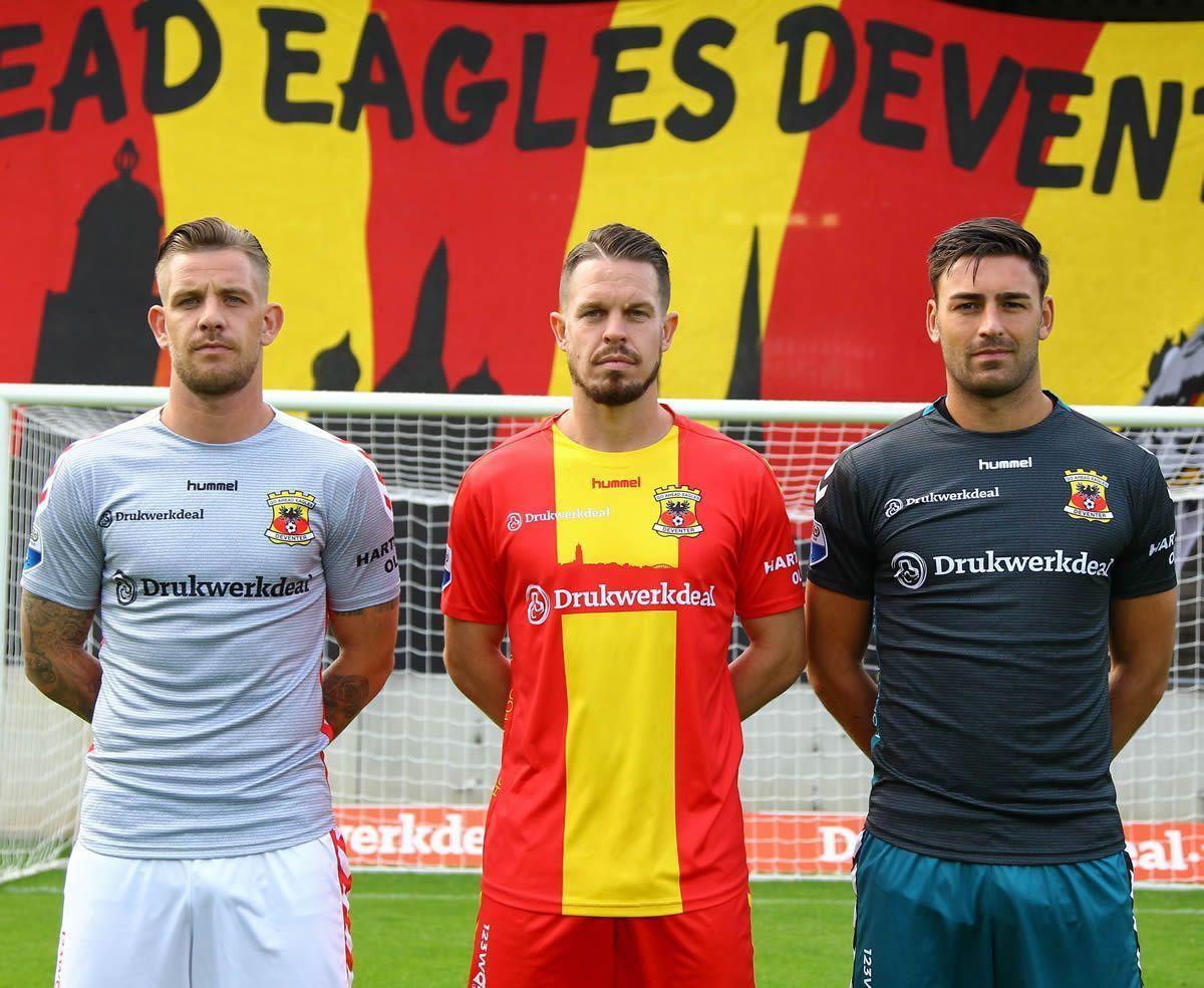 Nuevas casacas del Go Ahead Eagles | Foto Web Oficial
