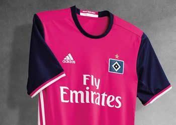 Camiseta suplente del Hamburgo | Foto Adidas