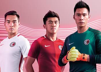Nuevas casacas de Hong Kong | Foto Nike