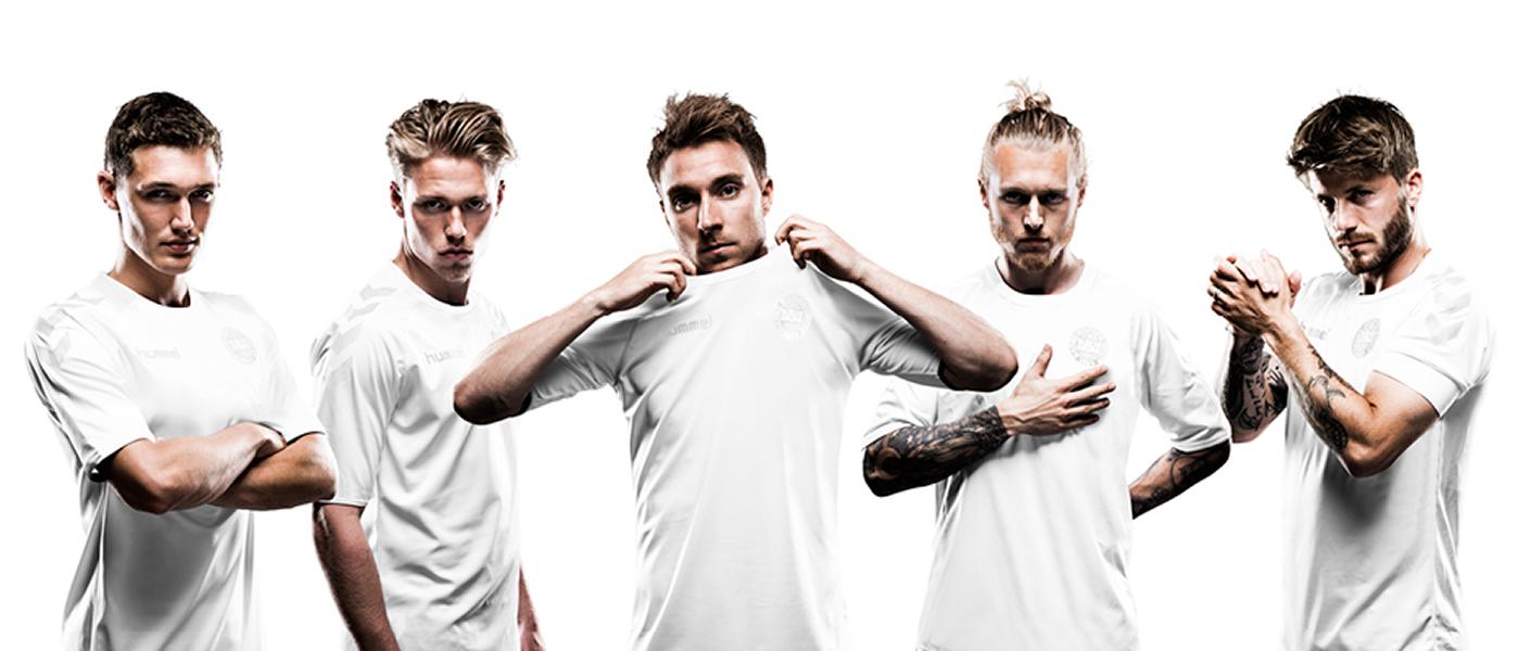Dinamarca vestirá de blanco | Foto Hummel