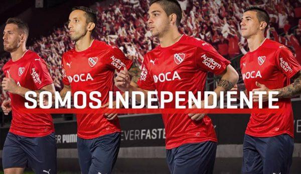 Camiseta titular de Independiente | Foto Puma