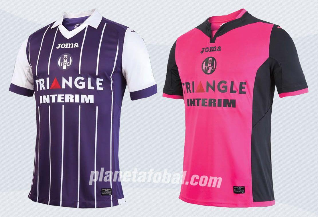 Nuevas casacas del Toulouse FC | Imágenes Web Oficial