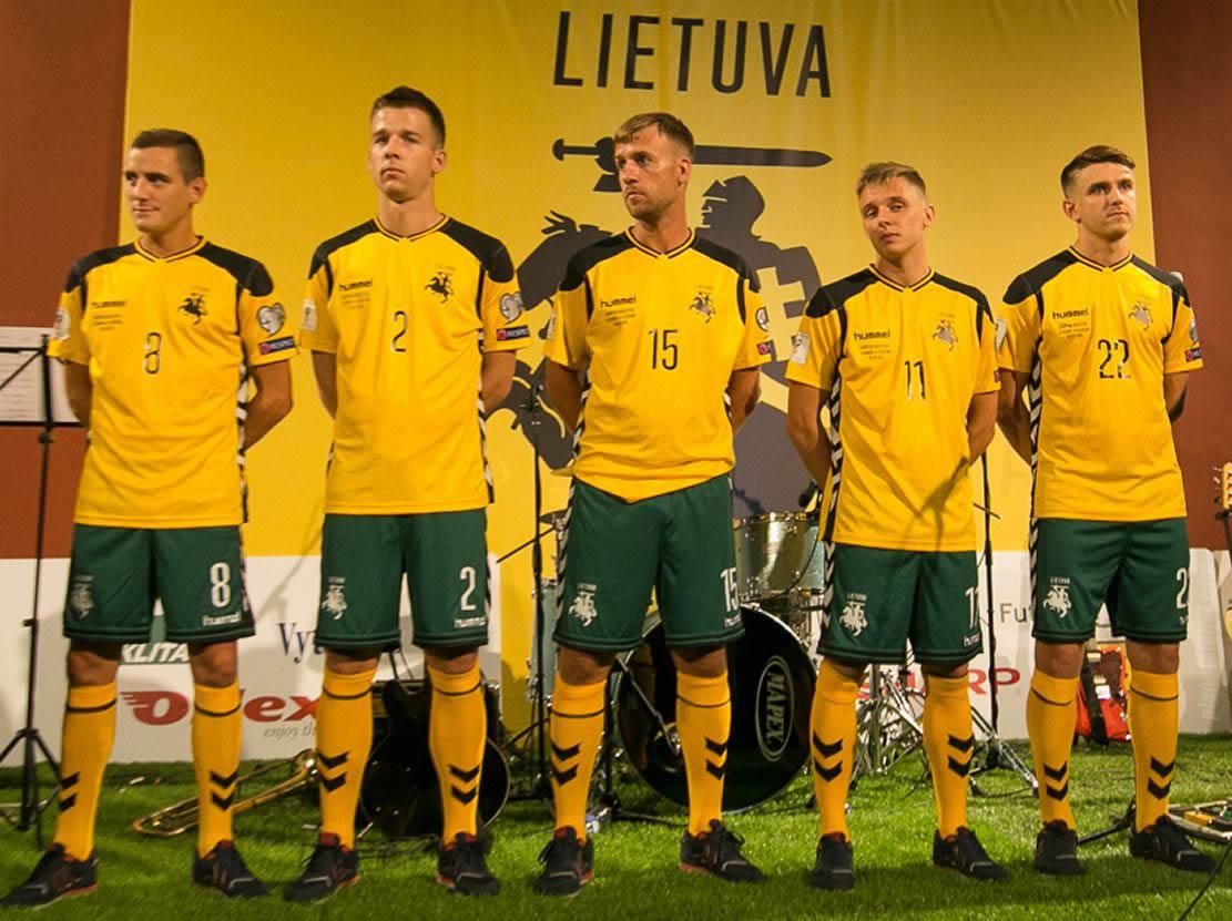 Nueva casaca de Lituania | Foto Web Oficial