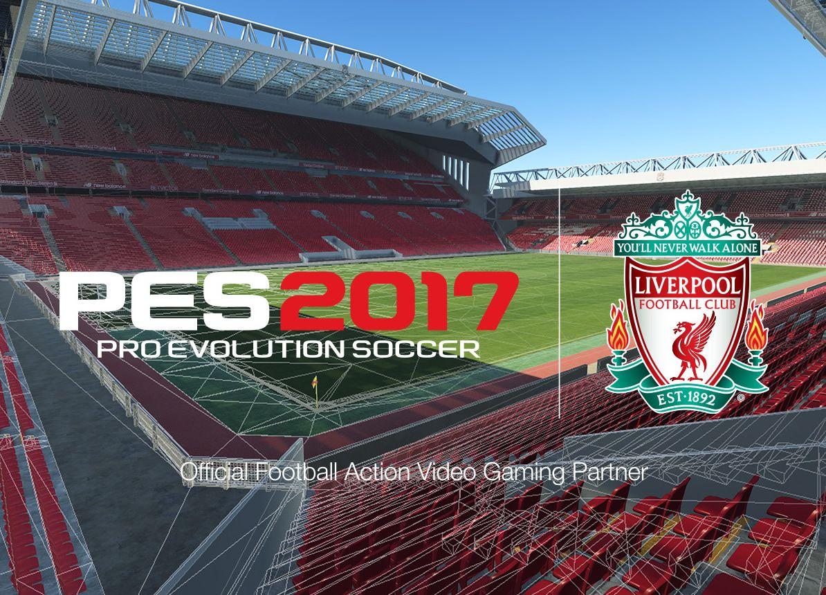 Liverpool estará licenciado en el PES2017   Foto Konami
