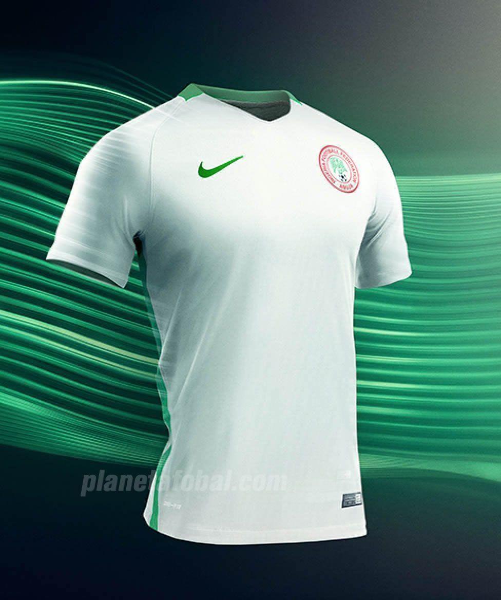 Camiseta suplente de Nigeria | Foto Web Oficial