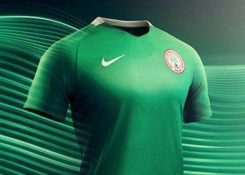 Camiseta titular de Nigeria | Foto Web Oficial