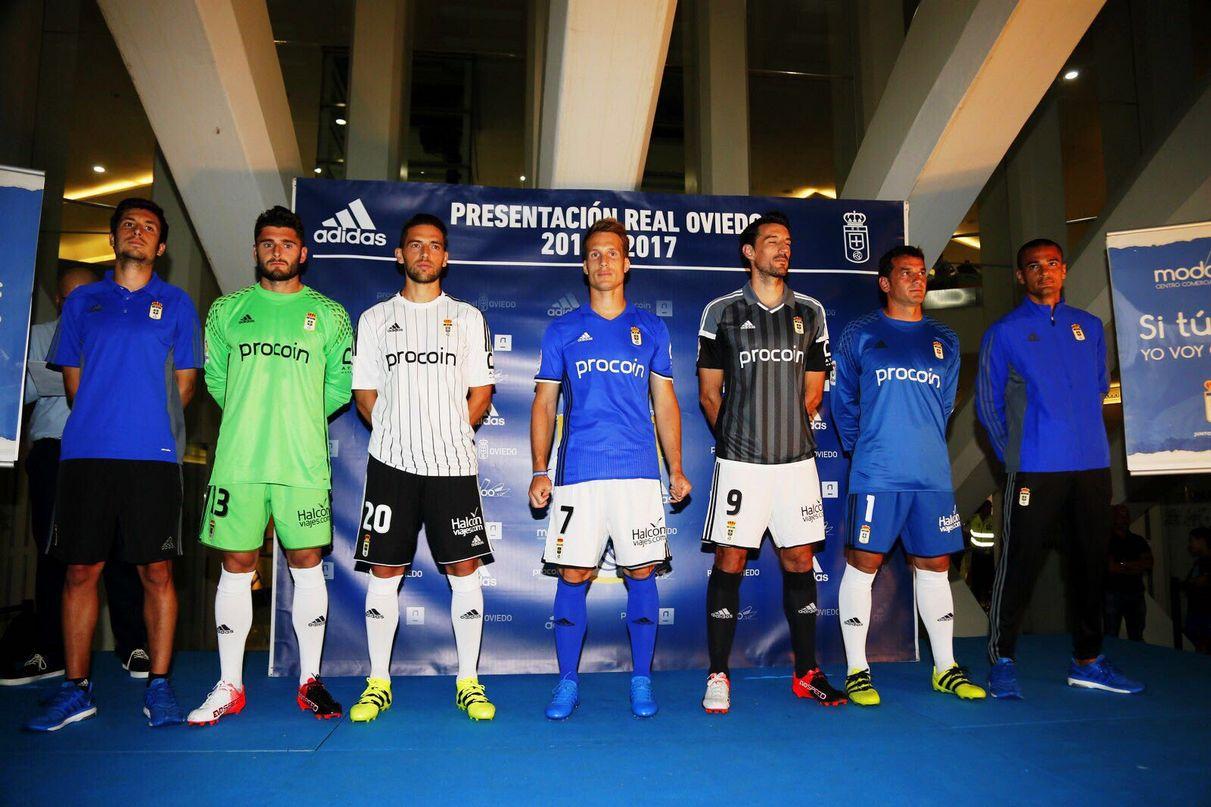 Nuevas camisetas Adidas del Real Oviedo para 2016/2017 | Foto Twitter Oficial @RealOviedo