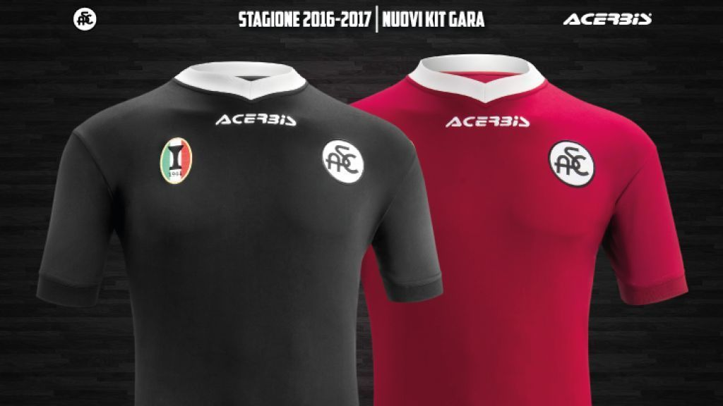 Camisetas alternativas del Spezia Calcio | Foto Web Oficial