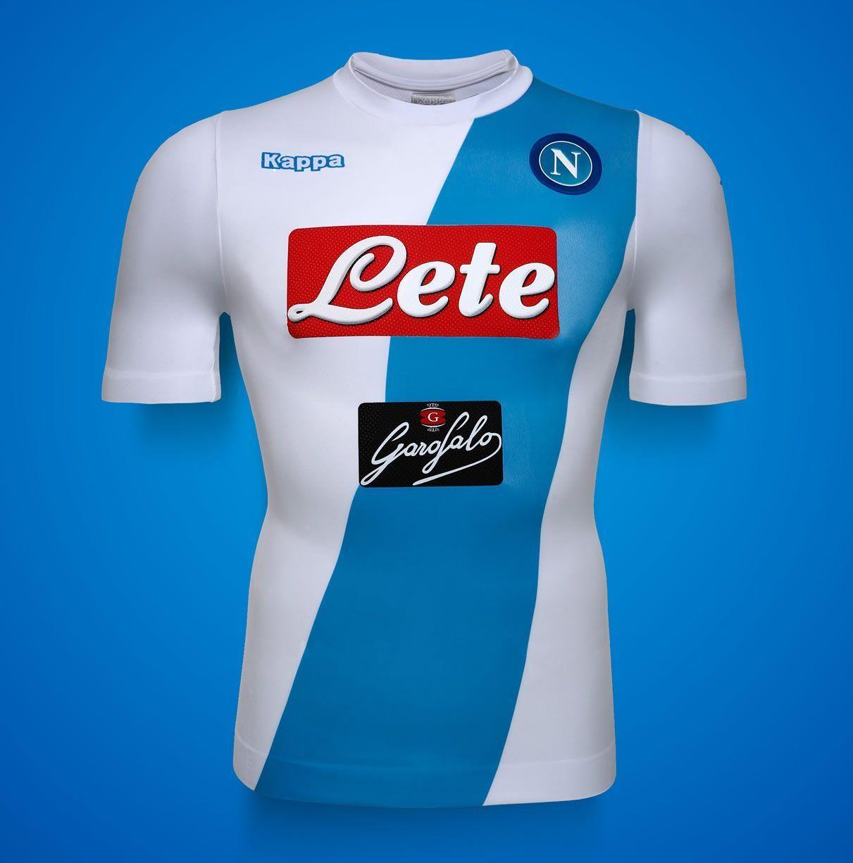 216b1b0887ec5 Camiseta suplente del Napoli