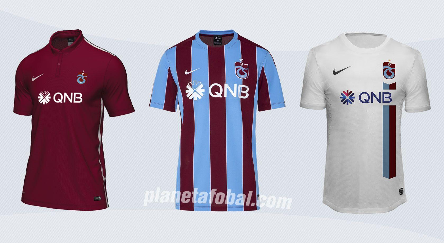Nuevas casacas del Trabzonspor | Imágenes Web Oficial