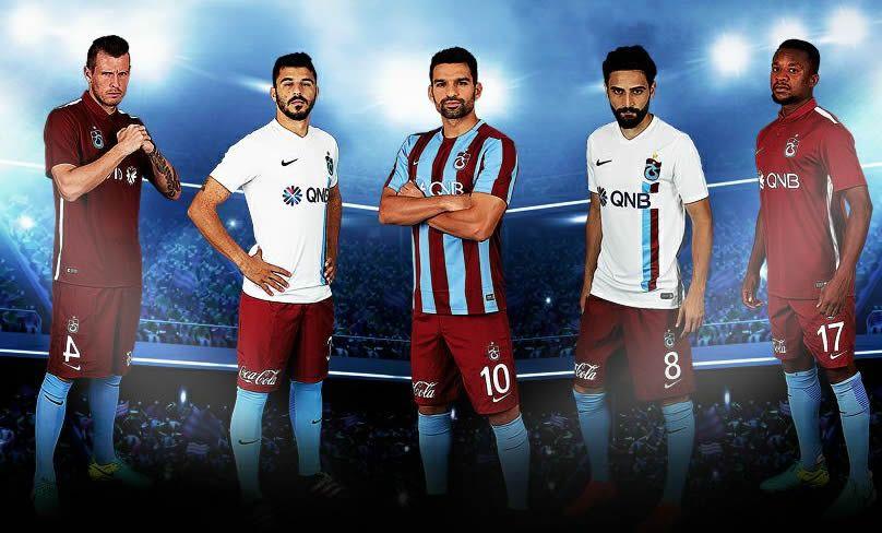 Nuevas casacas del Trabzonspor | Foto Web Oficial