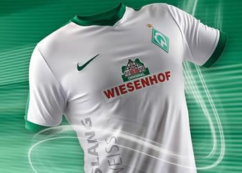 Tercera camiseta Nike del Werder Bremen para 2016/2017 | Foto web oficial