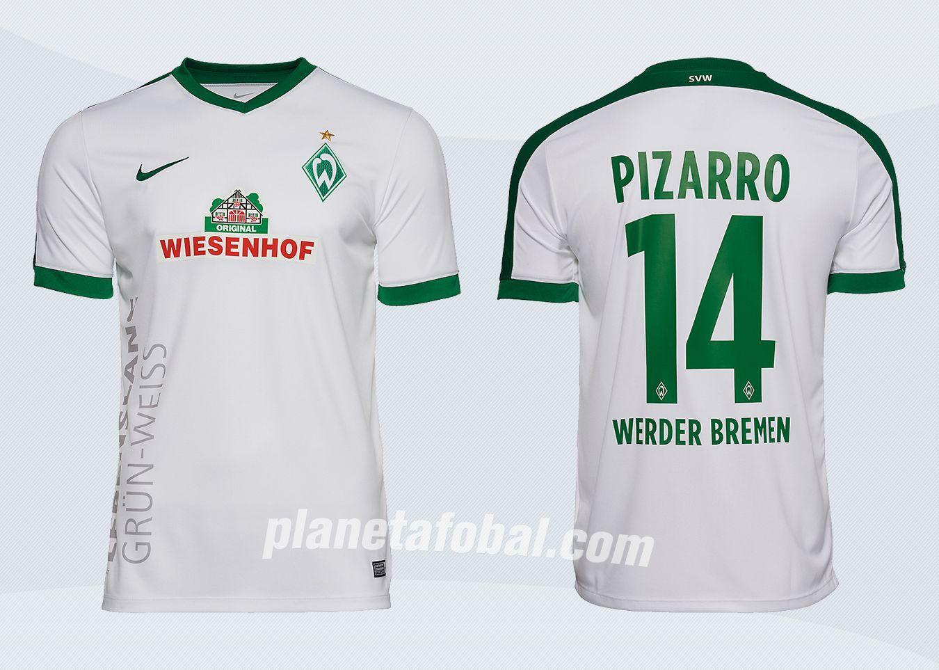 Tercera camiseta Nike del Werder Bremen para 2016/2017 | Imágenes Tienda Oficial
