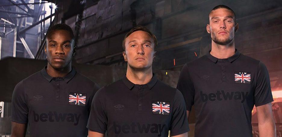 Camiseta especial del West Ham | Foto Web Oficial